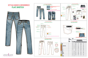 clothing Tech Pack Designer